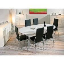 table de cuisine avec rallonge table ovali ovale de cuisine blanche meuble salle à manger blanc