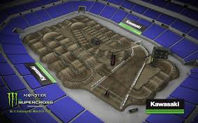Map Indianapolis 2017 Indianapolis Sx Track Map Transworld Motocross
