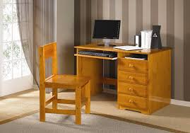 Computer Desk For Sale Solid Honey Finish Student S Desk With Chair Rooms Furniture