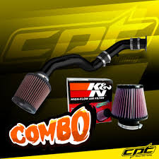 nissan 350z k n oil filter 03 06 350z 3 5l v6 black cold air intake k u0026n air filter ebay