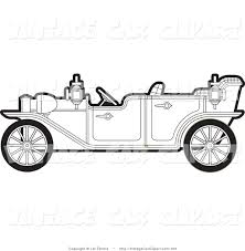 royalty free stock vintage car designs of coloring pages