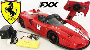 toy ferrari ferrari fxx rc remote control car unboxing toy 1 10 plus test
