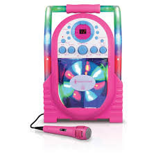 singing machine with disco lights get a handle on the party with the singing machine portable cdg