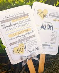 wedding ceremony program fans custom wedding ceremony programs cordial punch press