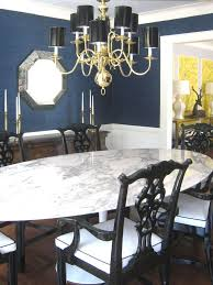 Best Dining Room Images On Pinterest Home Dining Room And - Navy and white dining room