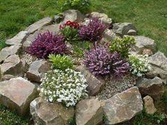 Small Rocks For Garden Crafty Garden Ideas Garden Rockery Ideas Bt The Crafty
