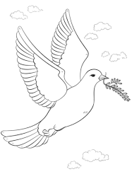 peace sign coloring pages funycoloring