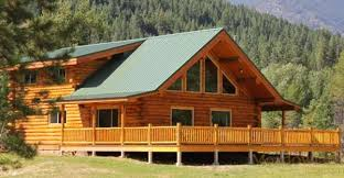 montana chalet log cabin kit just 65 000 click to view floor