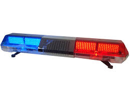 police led light bar led warning light bar with switch smart controller box