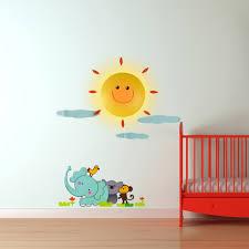stickers animaux chambre bébé luminaire enfant stickers chambre bébé avec le sur rapid cadeau