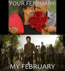 Walking Dead Valentines Day Meme - walking dead valentines funny walking dead pinterest walking