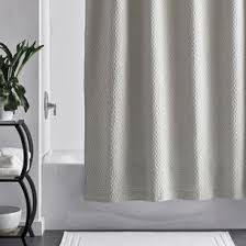 Light Grey Shower Curtain Legends Sterling Cotton Shower Curtain The Company Store