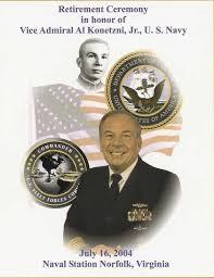 vice admiral al konetzni retires submarinesailor com