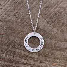 personalized necklace silver images Sterling silver coordinates necklace personalized necklace anna jpg