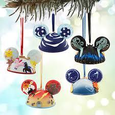 your wdw store disney ornament set fantasia ear hat