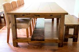 furniture lovable natural bespoke handmade refectory table