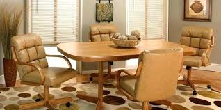 kitchen table with caster chairs dining table with caster chairs kitchen table and rolling chairs new