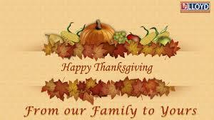 happy thanksgiving lloyd construction