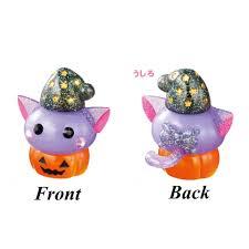 halloween online store sun hoseki jumbo cat in a pumpkin halloween hoppe chan figure