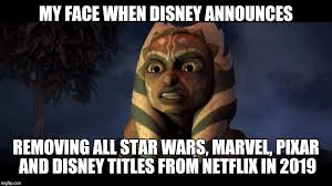 Star Wars Disney Meme - disney star wars imgflip