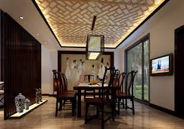Japanese Style Interior Design by Japanese Style Interior With Wall Arts And Unique Dining Room