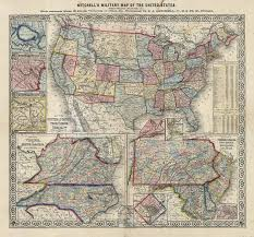 Map Of Te United States by Map Of The United States The Old Print Gallery Blog