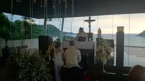 Photography Wedding Wedding At Pico De Loro In House Chapel With The Cove And The Sea