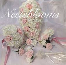 wedding flowers ebay artificial wedding bouquets ebay