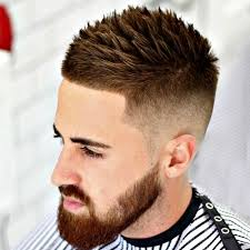 razor cut hairstyle with spiky on top temp fade haircut best 17 temple fade styles 2018 men s haircuts