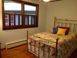 Half Window Curtains Window Treatments For Guest Bedroom