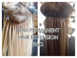 permanent hair extensions faq semi permanent hair extensions microbead fusion