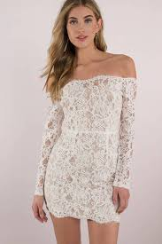 white lace dress adelyn lace bodycon dress 44 tobi us