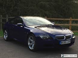 bmw m6 blue 2005 coupe m6 for sale in united kingdom