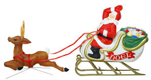 upc 029033180510 general foam plastics santa w sleigh and