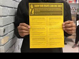 Fear Clinic Know Your Rights U0027 Clinic In Va Cafeteria Aims To Allay