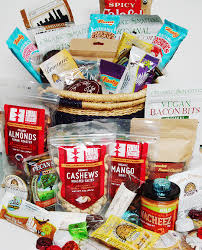 Vegan Gift Baskets Gigantemous Vegan Snack Basket Fair Trade Vegan Organic Garuda