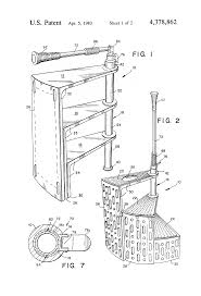 patent us4378862 portable spiral staircase google patents