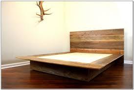 Build A King Platform Bed Frame by Diy Wood Platform Bed Frame Home Furniture Design Furniture N
