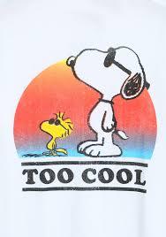 Snoopy Halloween Shirt by Peanuts Too Cool Snoopy U0026 Woodstock T Shirt
