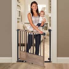 Baby Gate For Bottom Of Stairs With Banister Baby Gates Target