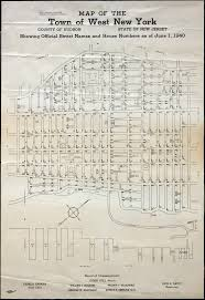 New York City Tax Map by Historical Hudson County New Jersey Maps