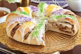 mardi gra cake mardi gras king cake teatime magazine