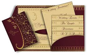 Indian Wedding Card Designs Online Best Album Of Indian Wedding Invitation Cards Theruntime Com