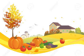 thanksgiving vector art landscape clipart thanksgiving pencil and in color landscape
