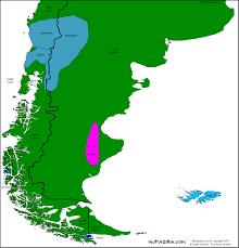 Patagonia Map Patagonia Mapa Lingüístico Linguistic Map