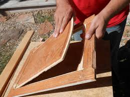 Putting Trim On Cabinets by Diy Changing Solid Cabinet Doors To Glass Inserts Cabinet Doors