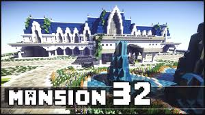 Large Mansions Minecraft Biggest Mansion Of The Server Youtube