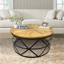 reclaimed wood round coffee table industrial reclaimed wood round coffee table dmt 085 the home depot