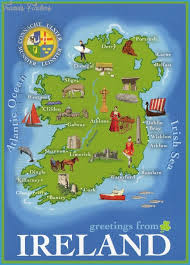 map attractions ireland map tourist attractions travelsfinders