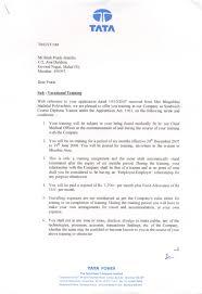 tata power internship certificate